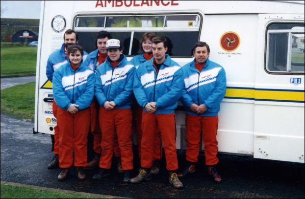 Hogg Motorsport Crew 1991
